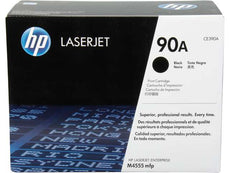 OEM HP CE390A, 90A Laser Toner Cartridge - Black - 10K