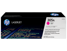OEM HP CE413A, 305A Toner Cartridge - Magenta - 2.6K