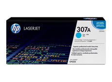 OEM HP CE741A, 307A Toner Cartridge For Color LaserJet CP5220 Cyan - 7.3K