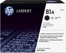 OEM HP CF281A, 81A Toner Cartridge - Black - 10.5K