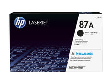 OEM HP CF287A, 87A Toner Cartridge For LaserJet Enterprise M506N Black - 9K