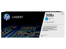 OEM HP CF361X, 508X Toner Cartridge, Color LaserJet M553dn Cyan - 9.5K