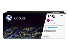 OEM HP CF363X, 508X Toner Cartridge, Color LaserJet M553dn Magenta - 9.5K