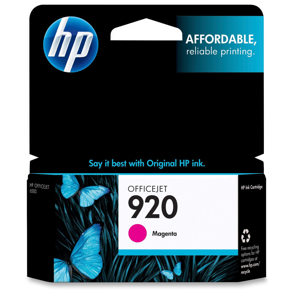 Original HP 920, CH635AN Ink Cartridge Standard Yield - Magenta - 300 Pages