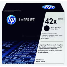 OEM HP Q5942X, 42X Toner Cartridge, LaserJet 4250, 4350 Black - 20K