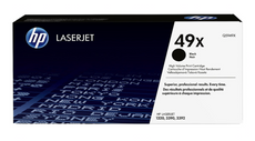 OEM HP Q5949X, 49X Laser Toner Cartridge - Black - 6K