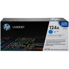 OEM HP Q6001A, 124A Toner Cartridge, HP 1600, 2600, 2605 Cyan - 2.5K