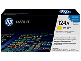 OEM HP Q6002A, 124A Toner Cartridge For Color LaserJet 1600, 2600, 2605 Yellow - 2.5K