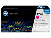 HP Q6003A, 124A OEM Toner Cartridge For Color LaserJet 1600, 2600, 2605 Magenta - 2.5K