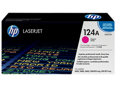 OEM HP Q6003A, 124A Toner Cartridge, HP 1600, 2600, 2605 Magenta - 2.5K