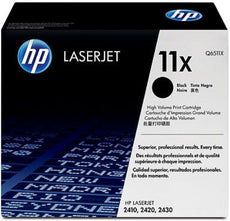 OEM HP Q6511X, 11X Toner Cartridge, 2420, 2430 Black - 12K