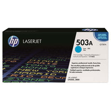 OEM HP Q7581A, 503A Toner Cartridge, 3800, CP3505 Cyan - 6K