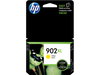 HP 902XL, T6M10AN OEM Ink Cartridge - Yellow - 825 Pages