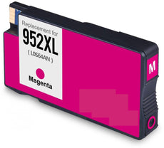 Remanufactured HP 952XL, L0S64AN Ink Cartridge - Magenta - 1.6K