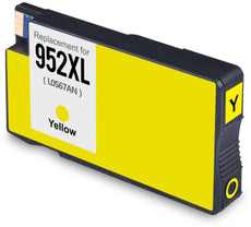 Remanufactured HP 952XL, L0S67AN Ink Cartridge - Yellow - 1.6K
