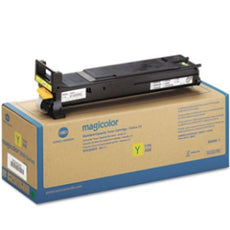 Konica Minolta A0DK232 OEM Toner Cartridge For MagiColor 4650 Yellow - 8K