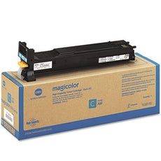 Konica Minolta A0DK432 OEM Toner Cartridge For MagiColor 4650 Cyan - 8K