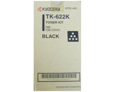 Kyocera Mita TK-622K, 1T05HN0US0 OEM Toner Cartridge For KM-C2230 Black - 11.5K