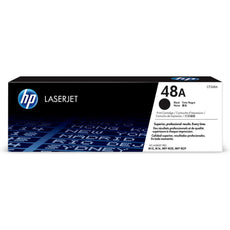 OEM HP CF248A, 48A Laser Toner Cartridge - Black - 1000 Pages