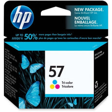 Original HP 57, C6657A, C6657AN Inkjet Cartridge Tri-Color - 500 Pages