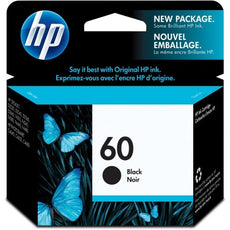 Original HP 60, CC640WN Ink Cartridge - Black - 200 Pages