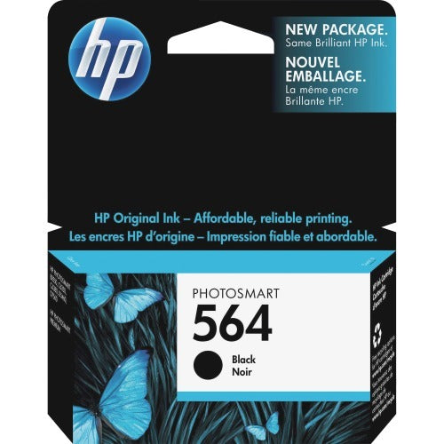 Original HP 564, CB316WN Ink Cartridge - Black - 250 Pages