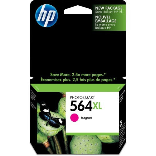 Original HP 564XL, CB324WN Ink Cartridge High Yield - Magenta - 750 Pages