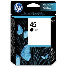 Original HP 45, 51645A Ink Cartridge - Black - 930 Pages
