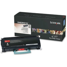 Original Lexmark X463H21G Toner Cartridge - Black - 9,000 Yield