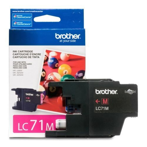 OEM Brother LC71M Ink Cartridge Magenta Standard Yield - 300 Pages