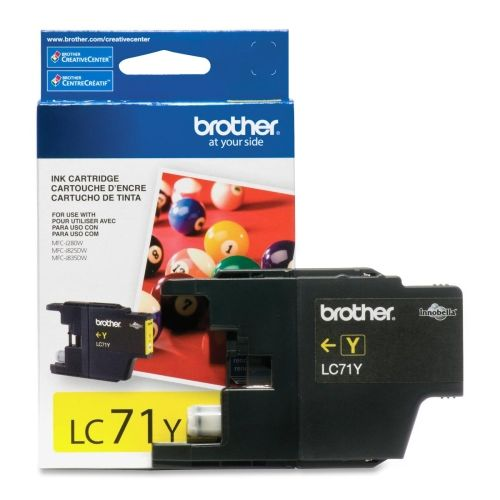 OEM Brother Innobella LC71Y Ink Cartridge - Inkjet - 300 Pages - Yellow