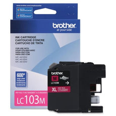 OEM Brother LC103MS Ink Cartridge - High Yield - Magenta - 600 Pages
