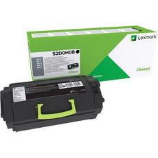 Lexmark 52D0H08 OEM Toner Cartridge Black High Yield - 25K