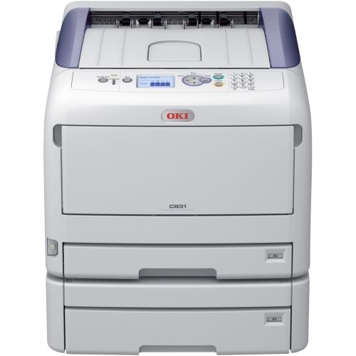 OKI C831dn LED Color Printer - ENERGY STAR, Blue Angel Compliance