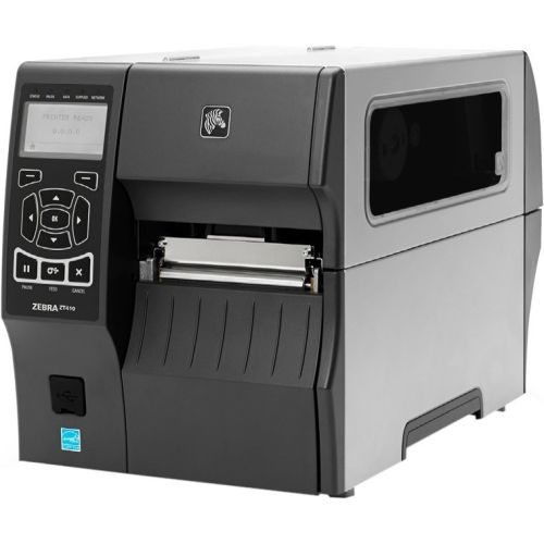 Zebra ZT410 Direct Thermal/Thermal Transfer Printer - Monochrome