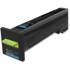 Lexmark 82K1XC0 Toner Cartridge Extra High Yield Cyan Return PGM (22,000 Yield)