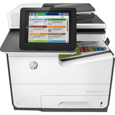 HP PageWide Enterprise 586f Page Wide Array Multifunction-Color Printer - Copier/Fax/Printer/Scanner