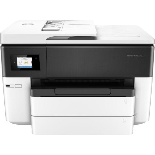 HP Officejet Pro 7740 Inkjet Multifunction-Color Printer - Copier/Fax/Printer/Scanner - Automatic Duplex Print