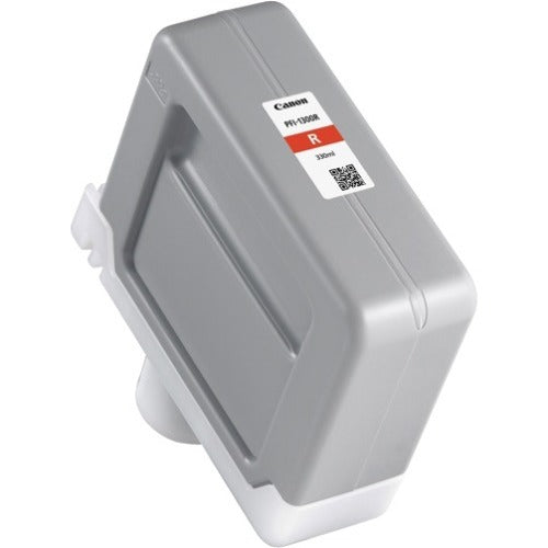 OEM Canon 0819C001, PFI-1300 R Ink Cartridge - Red - 330ml