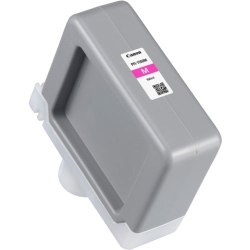 OEM Canon 0852C001, PFI-1100 Ink Cartridge - Magenta - 160ml