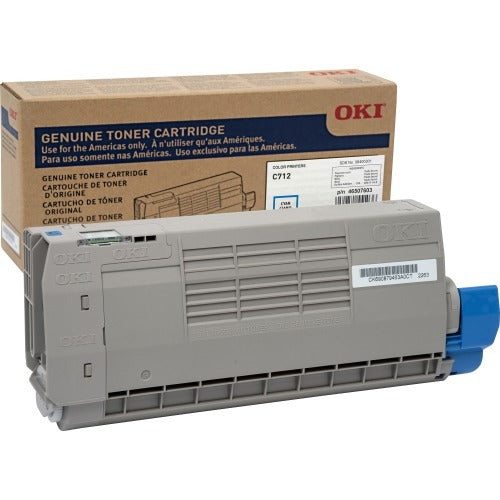 Oki Original Toner Cartridge - Cyan - Led - 11500 Pages - 1 / Each