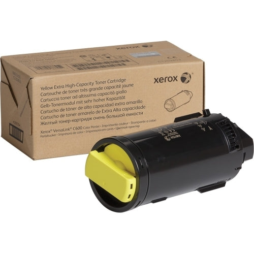 OEM Xerox 106R03918 Toner Cartridge Yellow Extra High Yield - 16800 Pages