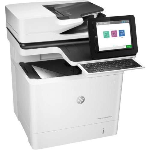 HP LaserJet M631h Laser Multifunction Printer - Monochrome - Copier/Printer/Scanner - Automatic Duplex Print