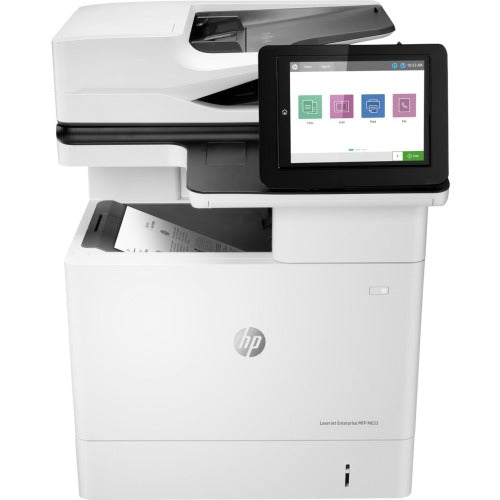 HP LaserJet M633fh Laser Multifunction Printer - Monochrome - Copier/Fax/Printer/Scanner - Automatic Duplex Print