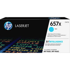 OEM HP 657X, CF471X LaserJet Toner Cartridge - Cyan - 23000 Pages