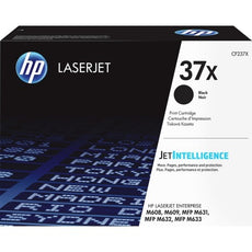 OEM HP CF237X, 37X Toner Cartridge - Black - High Yield - 25000 Pages