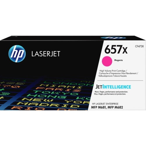 OEM HP 657X, CF473X LaserJet Toner Cartridge - Magenta - 23000 Pages