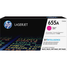 OEM HP CF453A, 655A Toner Cartridge - Magenta - 10500 Pages