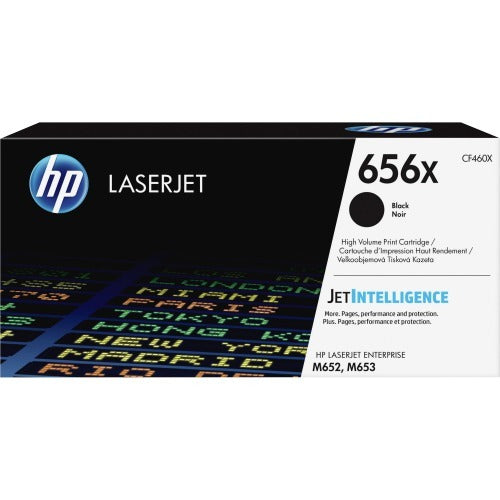 OEM HP CF460X, 656X Toner Cartridge - Black - 27000 Pages