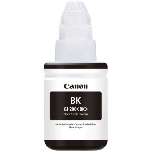OEM Canon Gi-290, 1595C001 Ink Refill Bottle - Pigment Black - 6000 Pages